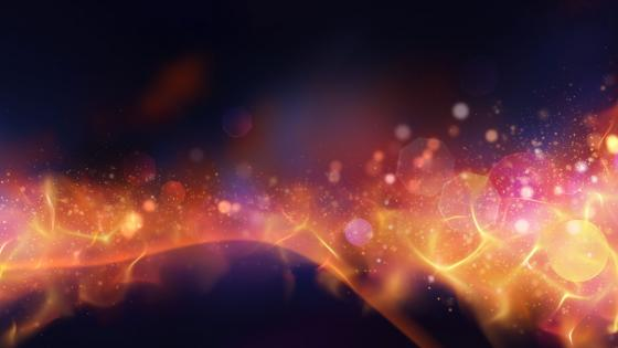 Translucent flame abstract artwork wallpaper