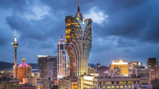 Grand Lisboa in Macau wallpaper