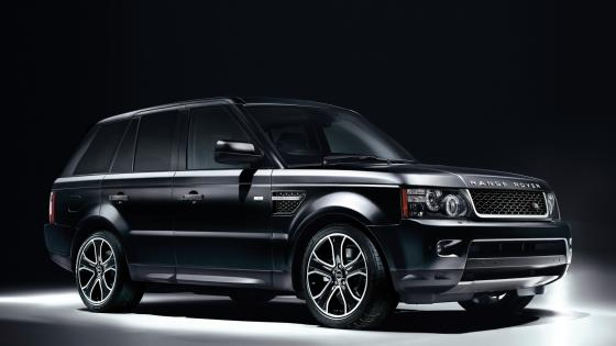 Black Range Rover wallpaper