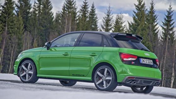Audi S1 sportback 2015 wallpaper