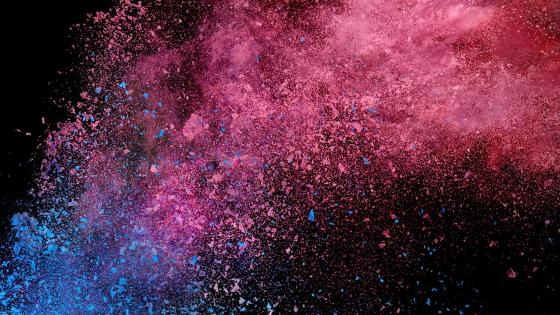 Pink explosion wallpaper