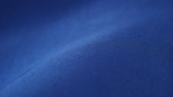 Blue fabric wallpaper