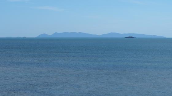 Islands off the coast wallpaper