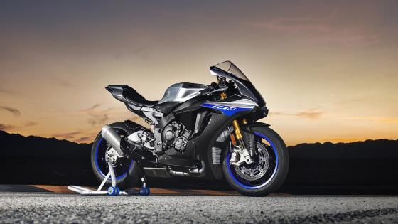 Yamaha YZF-R1 motorcycle wallpaper