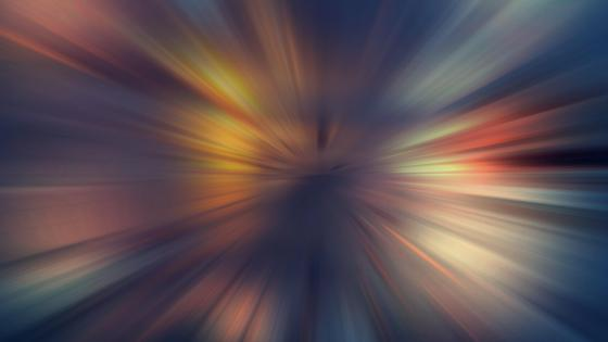 Lights from the midst - Abstract art wallpaper