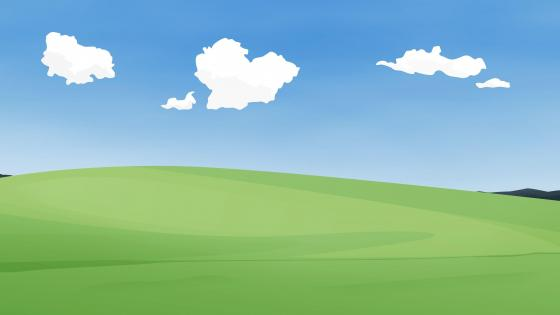 Simple landscape wallpaper