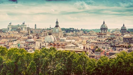 Rome skyline wallpaper
