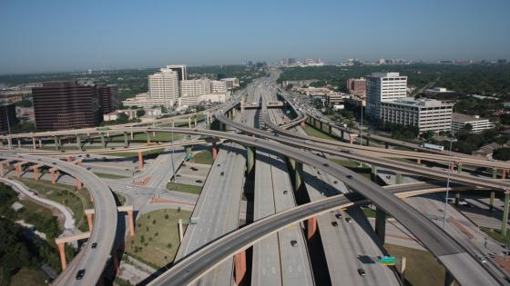 The High Five interchange in Dallas, Texas wallpaper