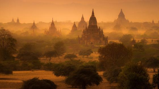 The Temples of Bagan wallpaper