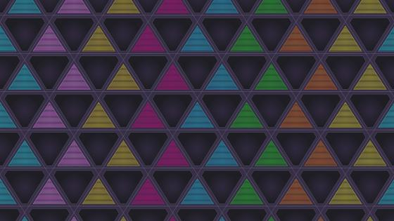 Colorful triangles wallpaper