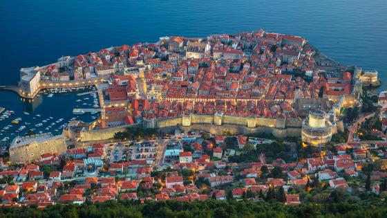 Dubrovnik's Old City wallpaper