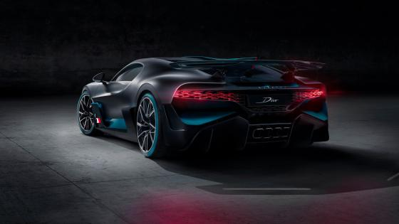 Bugatti Divo back wallpaper