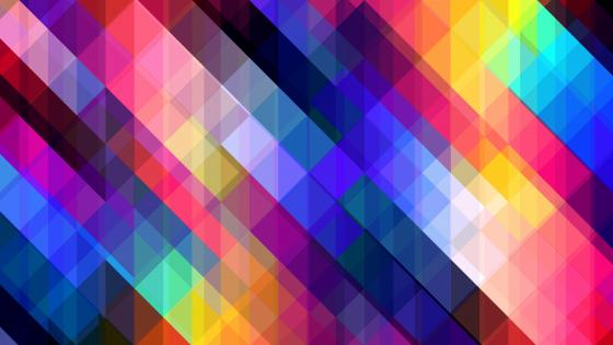 Colorful square tiles wallpaper