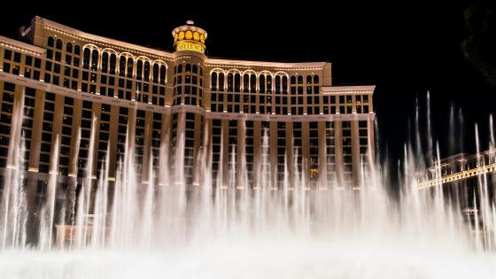 Bellagio Hotel in Las Vegas wallpaper