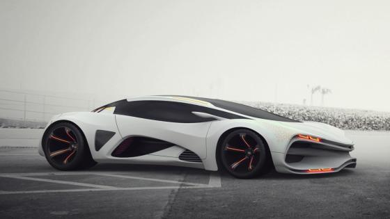 White Lada Raven wallpaper
