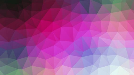 Multicolor triangles wallpaper