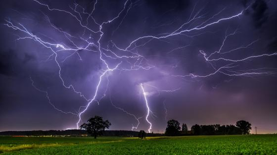 Thunderstorm wallpaper