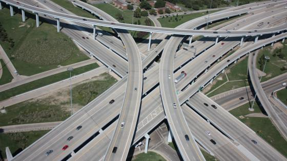 I-30 at I-35W wallpaper