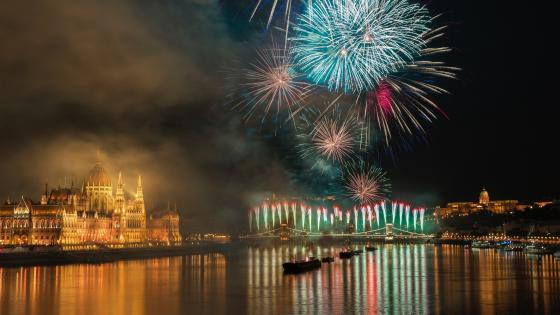 St. Stephen's Day - August 20th, Budapest wallpaper