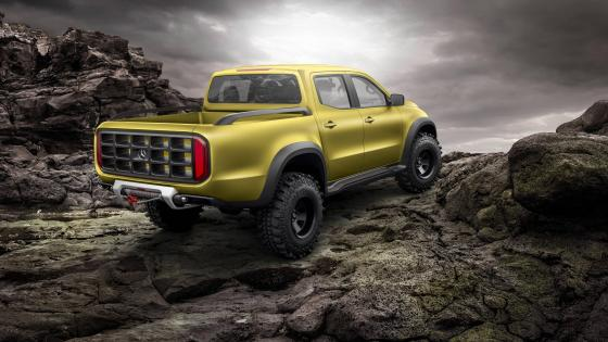 Mercedes Benz X Class pickup wallpaper