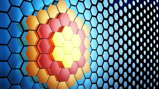 3D mesh wallpaper