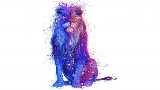 Cable lion wallpaper