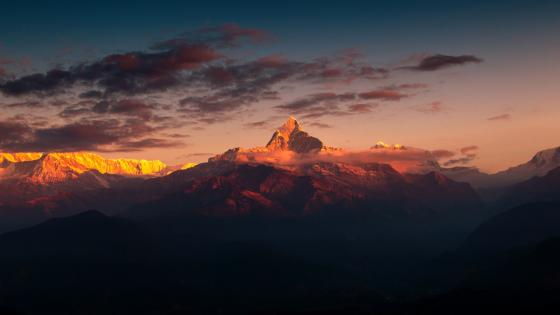 Himalaya Nepal wallpaper