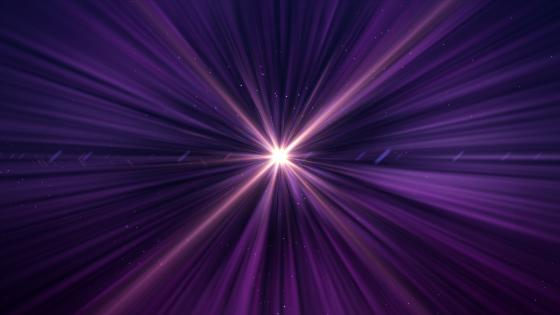 Purple laser light wallpaper