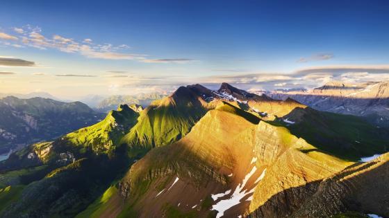 Mountain Panorama wallpaper