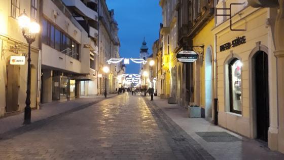 Győr at Xmas wallpaper
