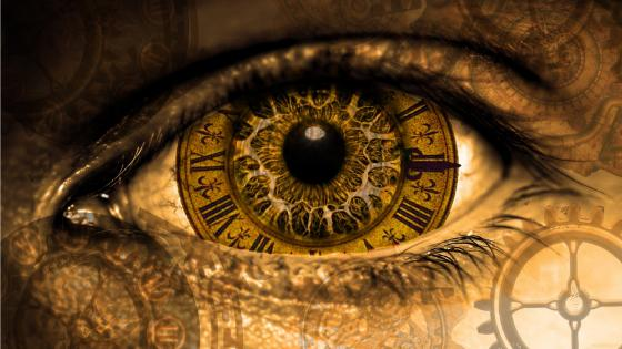 Eye - Steampunk art wallpaper