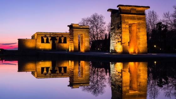 Temple of Debod (Madrid) wallpaper