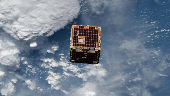 NanoRacks-Remove Debris satellite wallpaper