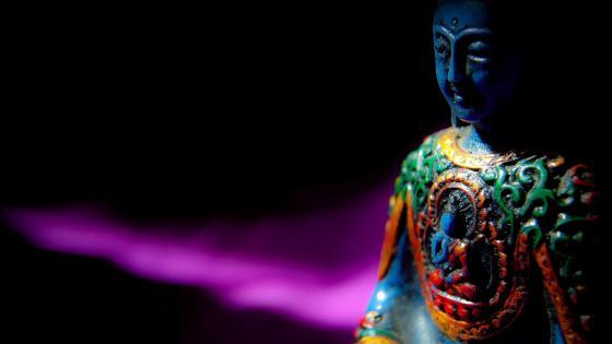 Buddhist meditation wallpaper