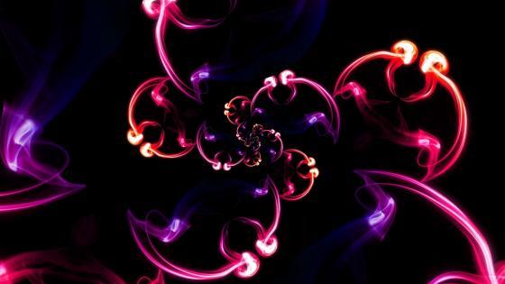 Purple smoke wallpaper