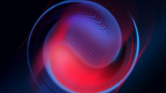 Abstract sphere wallpaper