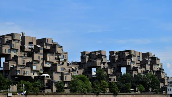 Habitat 67 wallpaper