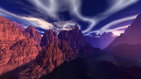 Photoshop landscape wallpaper