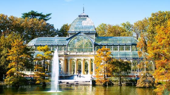 Crystal Palace, Retiro Park wallpaper