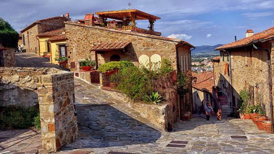Tuscany Italy - Castiglione della Pescaia wallpaper