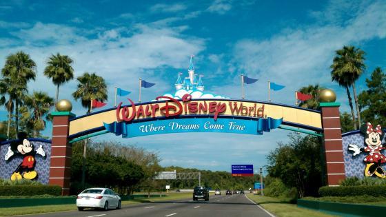 Walt Disney World Entrance wallpaper