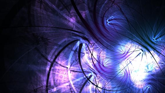 In the shadows - Fractal art wallpaper