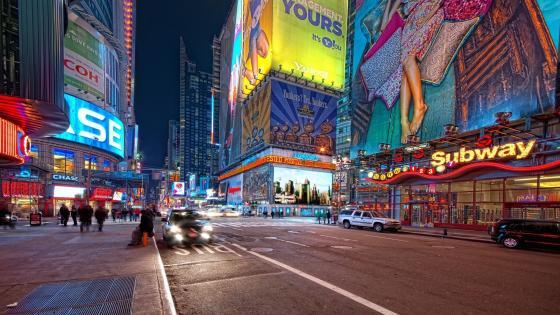 New York City street wallpaper