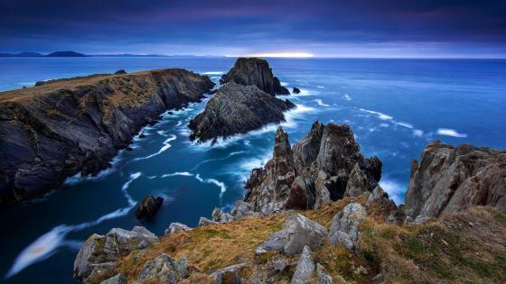 Malin Head coastline wallpaper