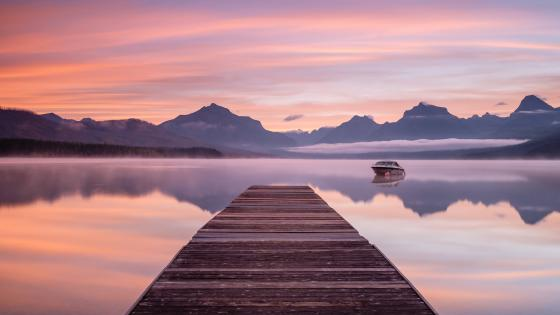 Lake McDonald, Montana wallpaper