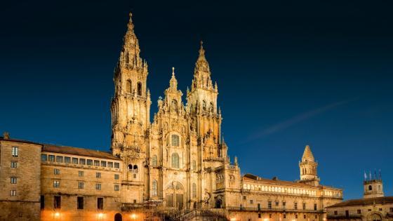 Cathedral of Santiago de Compostela wallpaper