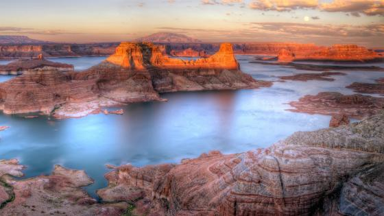 Alstrom Point, Gunsight Bay,  Lake Powell wallpaper