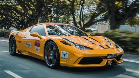 Ferrari 458 Race car wallpaper