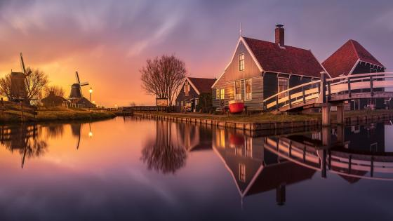 Zaanse Schans wallpaper