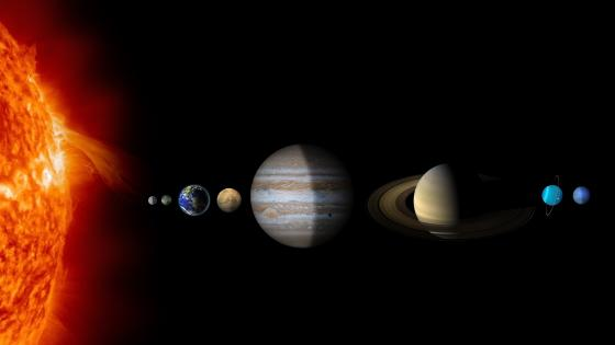Solar System Planets wallpaper